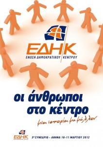 Αφίσα του Τρίτου Συνεδρίου της Ε.ΔΗ.Κ.
